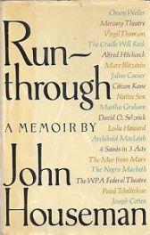 cover of Run-Through by John Houseman