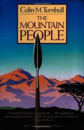 cover of The Mountain People by Colin M Turnbull