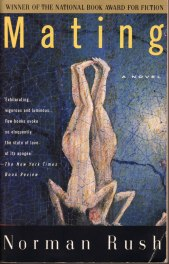mating by norman rush book cover
