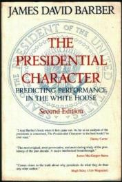 cover of Presidential Character by James D Barber