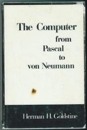 cover of The Computer from Pascal to Von Neumann by Herman H Goldstine