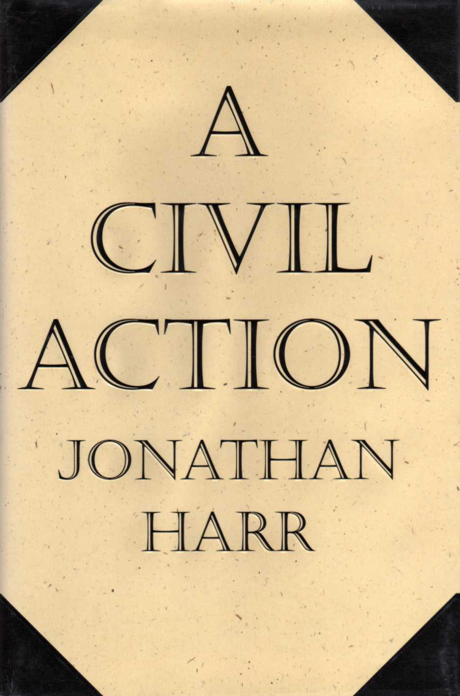 A Civil Action by Jonathan Harr book cover
