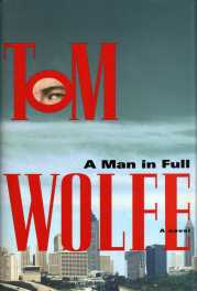 A Man in Full by Tom Wolfe book cover