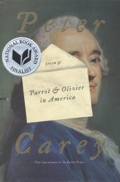 Parrot and Olivier in America by Peter Carey book cover