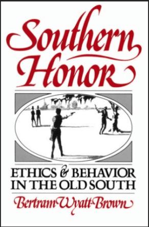 cover of Southern Honor by Bertram Wyatt Brown