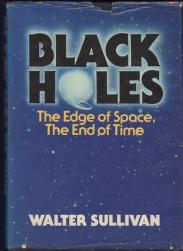 cover of Black Holes by Walter Sullivan