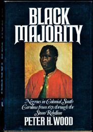 cover of Black Majority by Peter H Wood