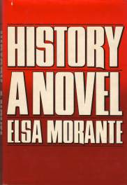 cover of Elsa Morante's History A Novel translated by William Weaver