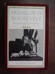 cover of Franklin D. Roosevelt by Frank Freidel