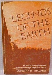 cover of Legends of the Earth by Dorothy B Vitaliano
