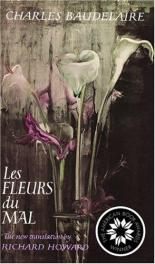 cover of Les Flerus du Mal by Charles Baudelaire translated by Richard Howard