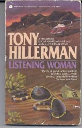 cover of Listening Woman by Tony Hillerman