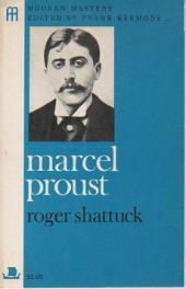 cover of Marcel Proust by Roger Shattuck