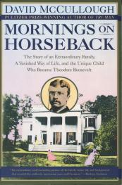 cover of Mornings on Horseback by David McCullough