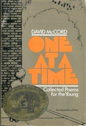 cover of One at a Time Collected Poems for the Young by David McCord