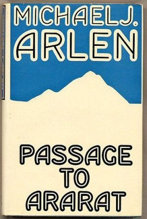 cover of Passage to Ararat by Michael J Arlen