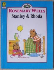 cover of Stanley and Rhoda by Rosemary Wells