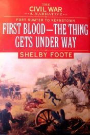 cover of The Civil War Volume 1 by Shelby Foote
