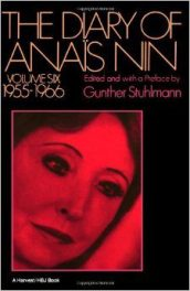 cover of The Diary of Anais Nin, Vol. VI edited by Gunther Stuhlmann