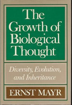 cover of The Growth of Biological Thought by Ernst Mayr