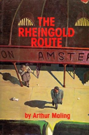 cover of The Rheingold Route by Arthur Maling