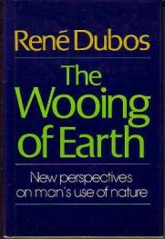 cover of The Wooing of Earth by Rene Dubos