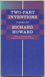 cover of Two Part Inventions by Richard Howard