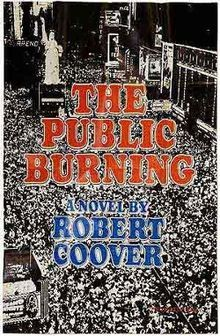 cover The Public Burning by Robert Coover