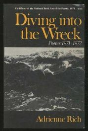cover of Diving into the Wreck Poems 1971-1972 by Adrienne Rich