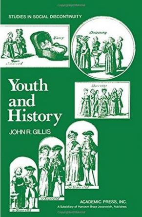 cover Youth and History by John R. Gillis