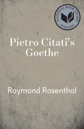 Goethe by Pietro Citati, Raymond Rosenthal (Translator)