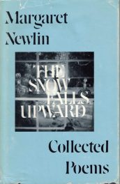 cover The Snow Falls Upward: Collected Poems by Margaret Newlin