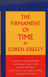 The Firmament of Time by Loren Eiseley book cover