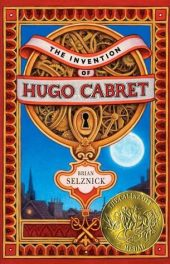 The Invention of Hugo Cabret by Brian Selznick book cover, 2007