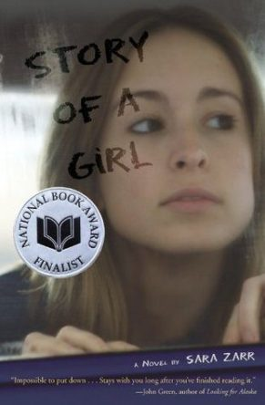 Story of a Girl by Sara Zarr book cover, 2007