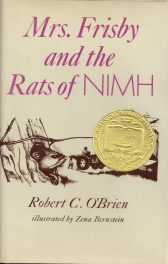 Mrs. Frisby and the Rats of Nimh by Robert C OBrien book cover