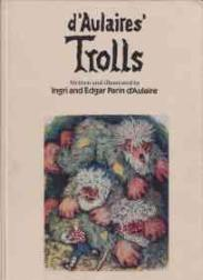 cover of Trolls by Ingri and Edgar Parin d'Aulaire