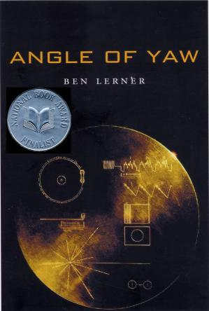 Angle of Yaw by Ben Lerner book cover, 2006