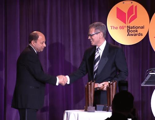 2015 National Book Awards - Harold Augenbraum honored