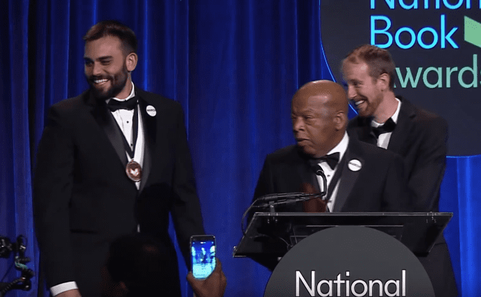 2016 National Book Awards -Lewis, Aydin & Powell Win Young People's Lit. Award (Full)