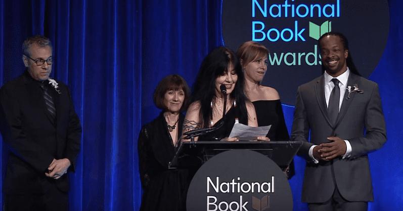 2016 National Book Awards - Joy Harjo (Full)