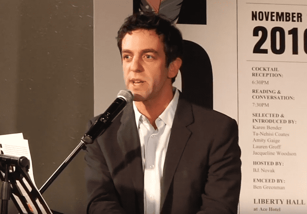 B.J. Novak hosts the 2016 5 Under 35 Celebration
