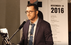 Benjamin Samuel Introducing B.J. Novak and Ben Greenman at 2016 5 Under 35 Celebration