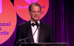 George Packer Accepts the 2013 National Book Award in Nonfiction