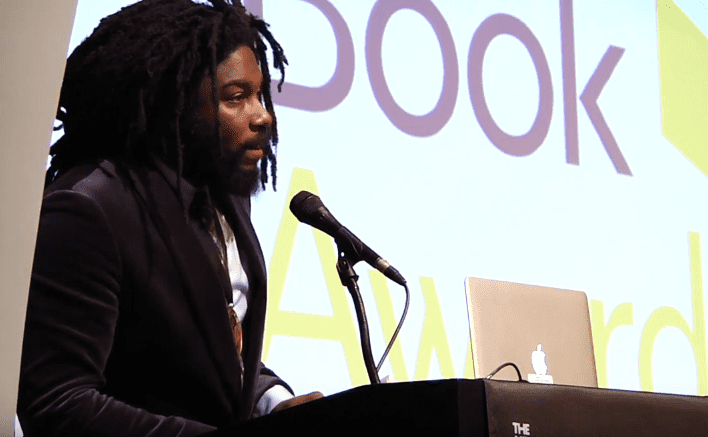 Jason Reynolds reads from Ghost at the 2016 National Book Awards Finalists Reading