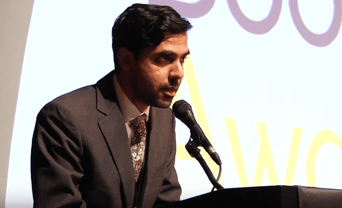 Karan Mahajan reads from The Association of Small Bombs, 2016 NBAs Finalists Reading