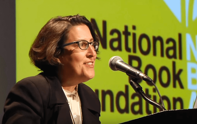 Karen Bender reads at the 2015 National Book Awards Finalists Reading