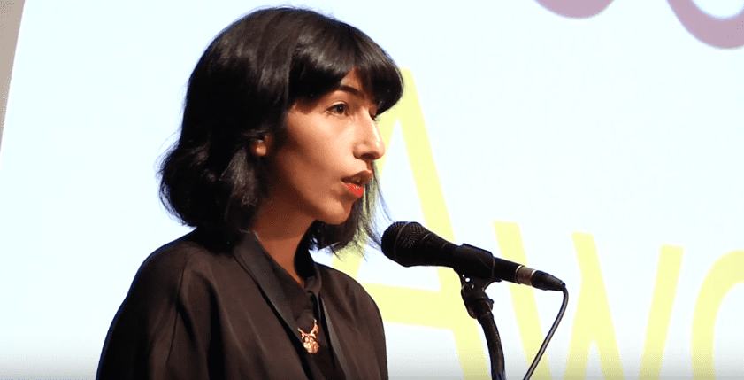 Solmaz Sharif reads from Look 2016 NBAs Finalists Reading