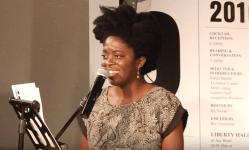 Yaa Gyasi reads from Homegoing, 2016 5 Under 35 Celebration