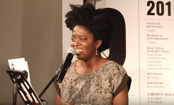 Yaa Gyasi reads from Homegoing, 2016 5 Under 35 Celebration